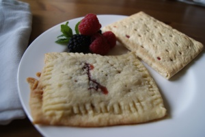 Home-made and store-bought Pop-Tarts